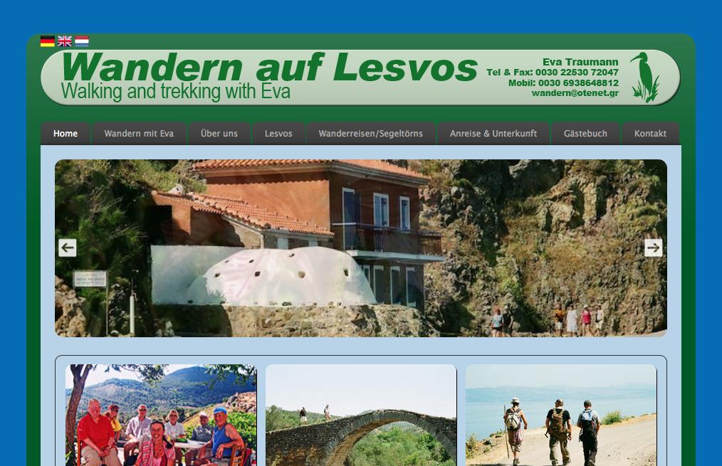 Wandern auf Lesvos