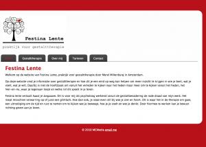 Gestalttherapie Festina Lente