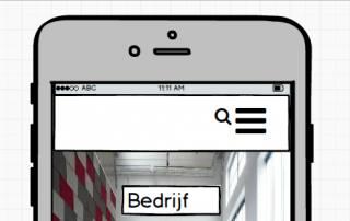 mobiel ontwerp voorbeeld