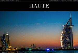 Cercle Haute website