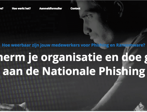 De nationale Phishing test